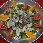 Scallops, octopus & Shrimp aguachille